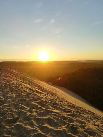 Lever de soleil sur la dune du Pilat et visite de la ville d'hiver d'Arcachon