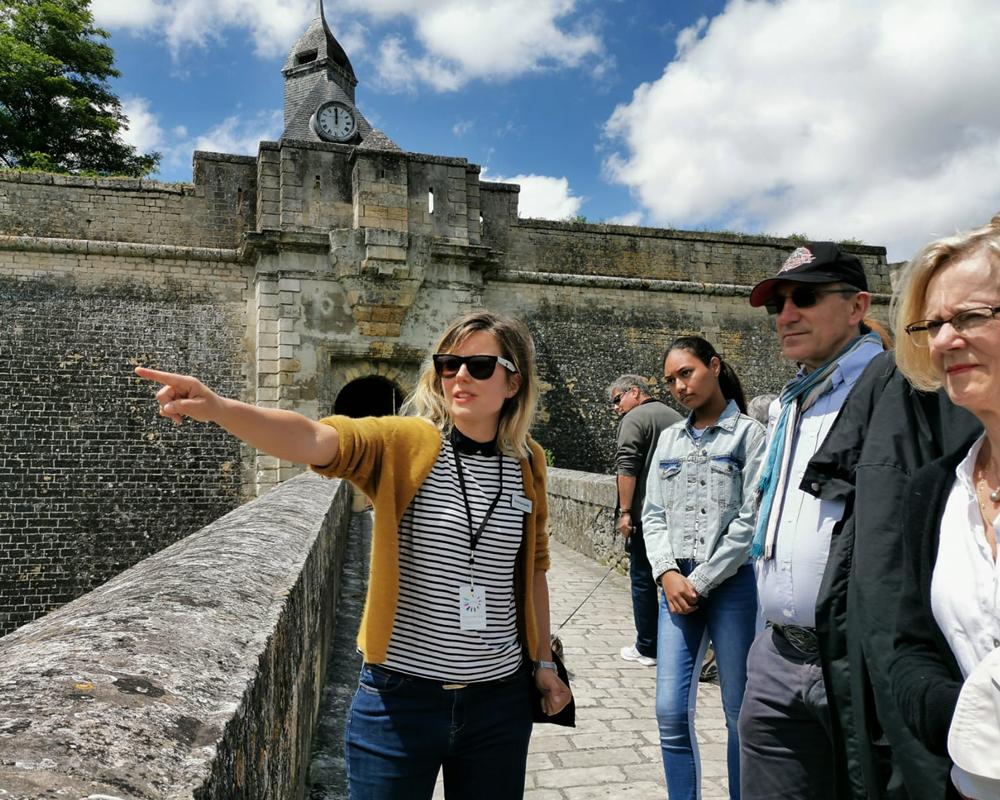 visite guidée de la citadelle de blaye