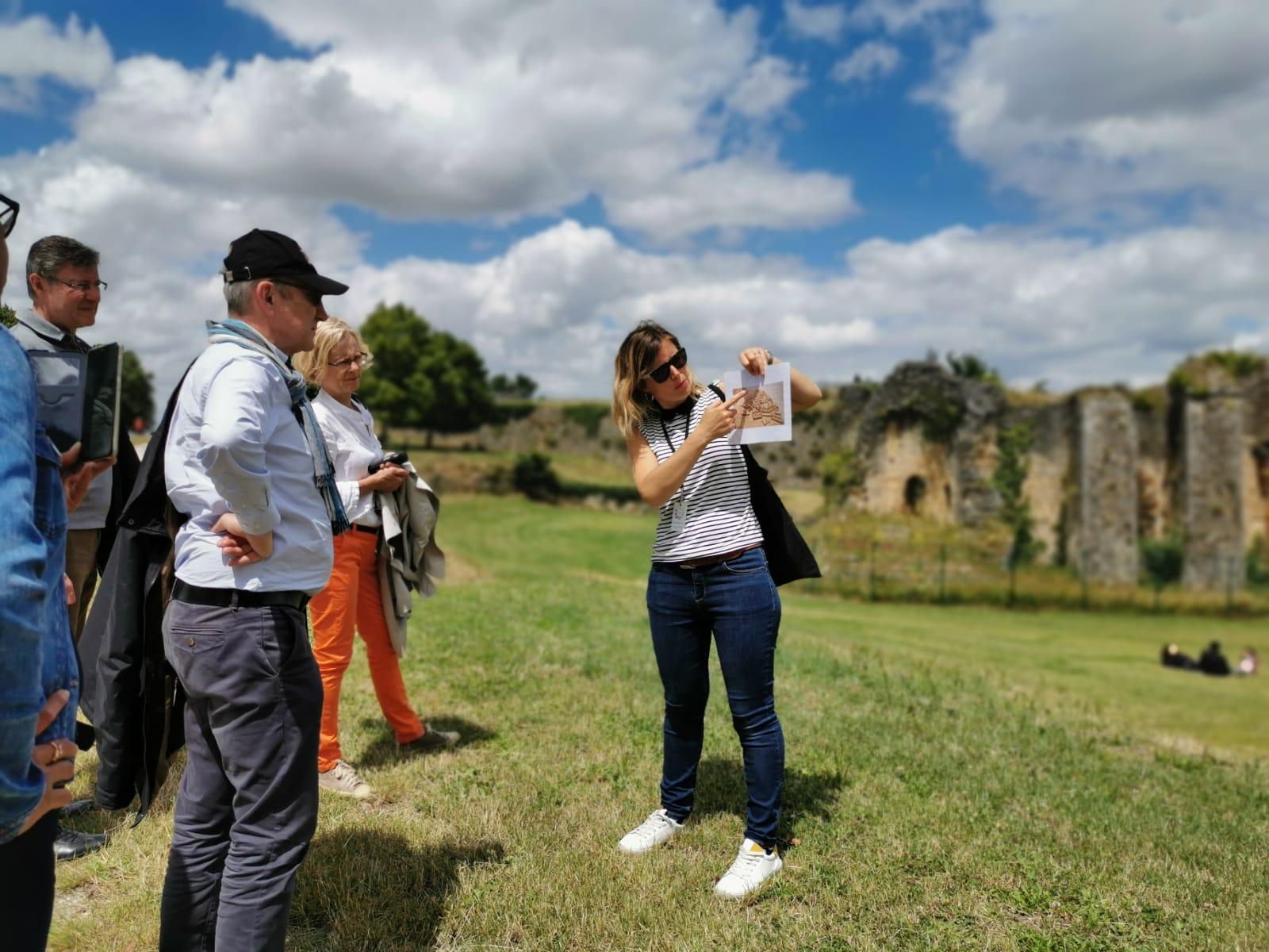 Visite de la citadelle de blaye