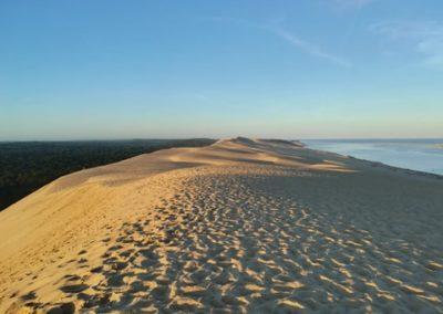 Randonnée et méditation sur la dune du Pilat